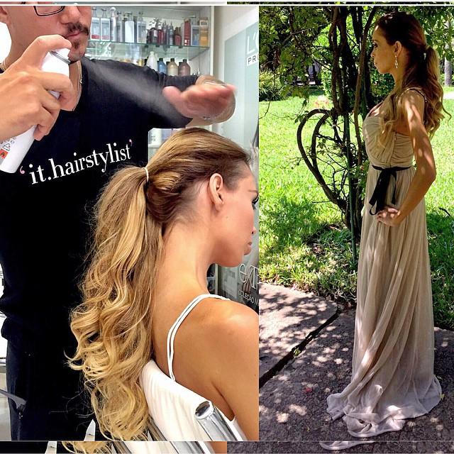 ✨Já está no #BlogCabelosLindos {Link in Bio} o primeiro tutorial do Oscar! ?Inspiração @jlo {Jennifer Lopez} ✨ Muito fácil e lindo! #Cabelos #Hair #NaBancada @matheustauber #ithairstylist #miragevivaopenmall #Oscars #ootd na tela #JLo #SiteCabelosLindos ➡️ tks @lenonsander ?