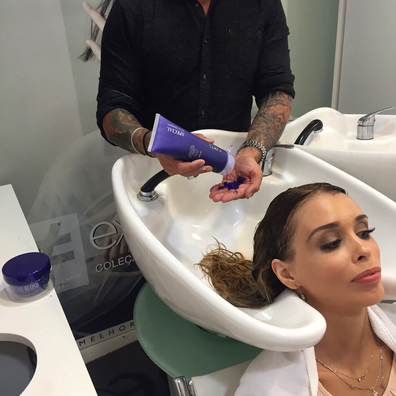 desamarelar cabelos
